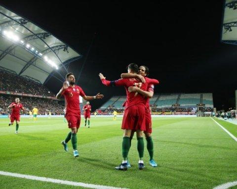 Португалия — Литва — 6:0: онлайн-трансляция матча отбора ЕВРО 2020