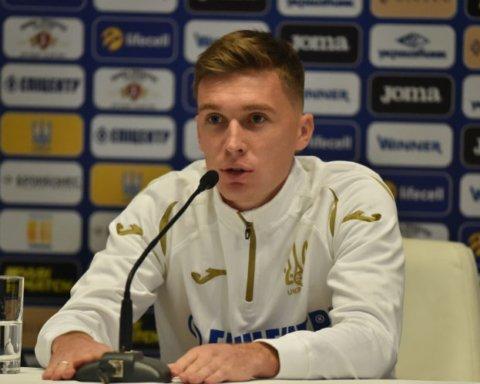 Сидорчук высказался накануне матчей сборной Украины с эстонцами и сербами