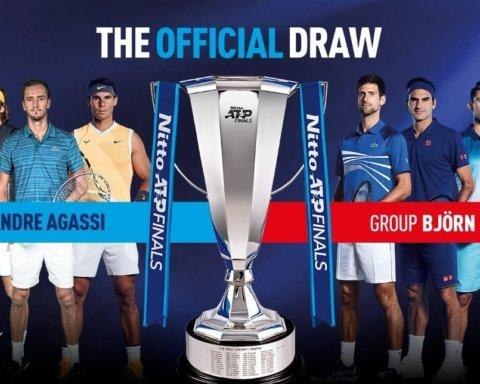 Жеребкування підсумкового турніру АТР: Джокович та Федерер потрапили до однієї групи