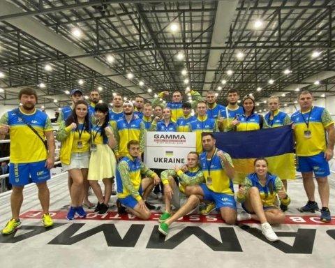 Збірна України перемогла на чемпіонаті світу з ММА