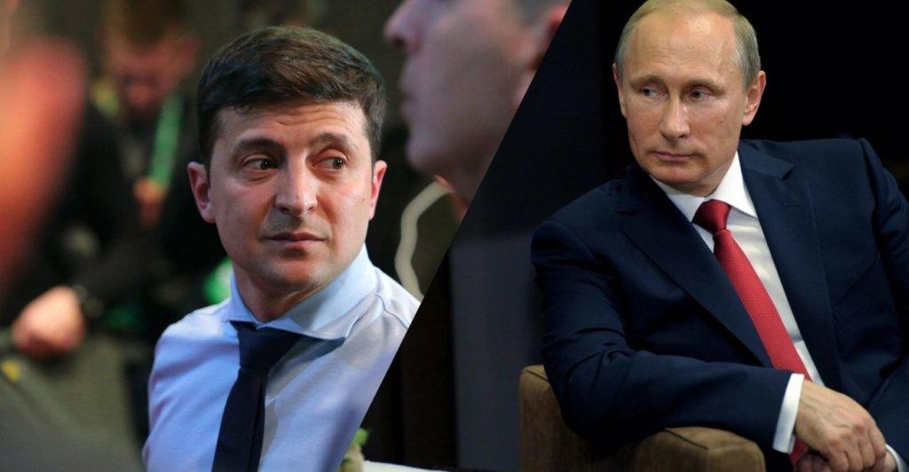 Путин отказался говорить с Зеленским об обострении на Донбассе и военной технике у границ