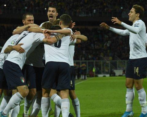 Збірна Італії забила дев'ять голів в одному матчі вперше за 71 рік