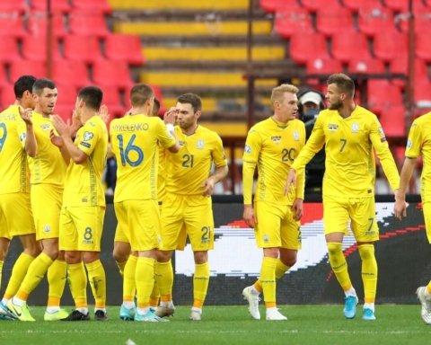 Сборная Украины будет в первой корзине на жеребьевке ЕВРО 2020