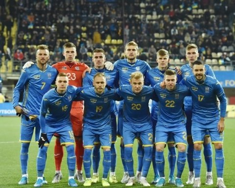 Сборная Украины победила эстонцев в Запорожье благодаря голу в дополнительное время