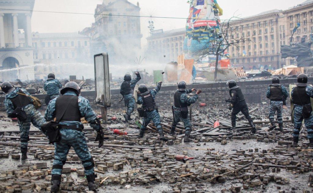 """Силовий розгін Майдану: """"беркутівців"""" засудили до трьох років в'язниці"""