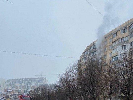 В Одесі чоловік вистрибнув з 7-го поверху, рятуючись від пожежі