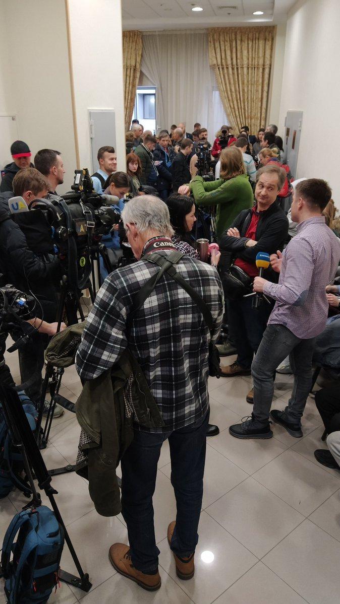 Дело Шеремета: к Апелляционному суду в Киеве стянули спецназ