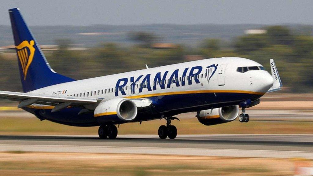 Ryanair раптово закриває рейси з Києва до Європи