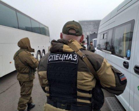 Начался обмен пленными между Украиной и «ЛДНР»: фото и видео