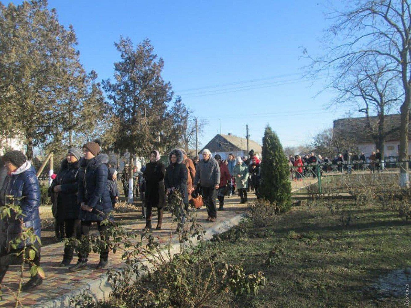 На Одещині попрощалися із загиблою в пожежі студенткою коледжу