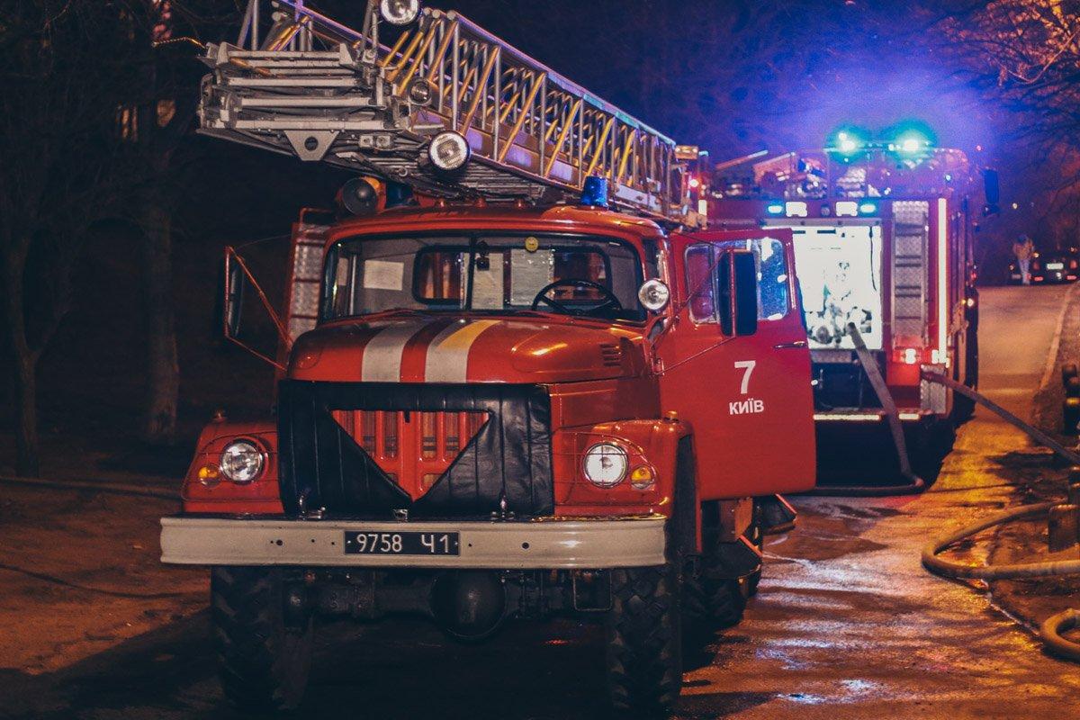 В Киеве горела многоэтажка, есть погибшие