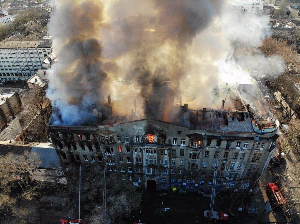 Смертельный пожар в одесском колледже: нашлась пропавшая без вести женщина
