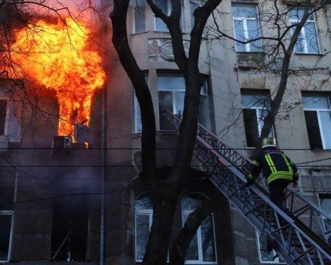 В Одесской области простились с погибшей в пожаре студенткой колледжа