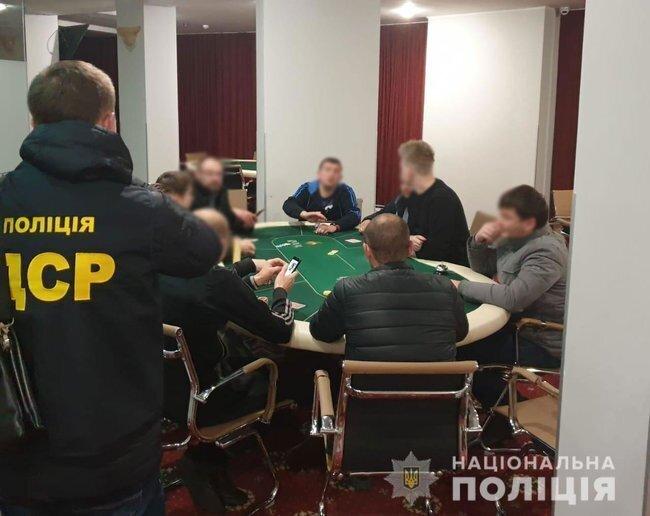 В Україні викрили велику мережу нелегальних гральних закладів