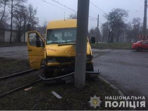 В Запорожье произошло жуткое ЧП с маршруткой: подробности