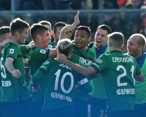 Аталанта с Малиновским разгромила Милан в матче Серии А