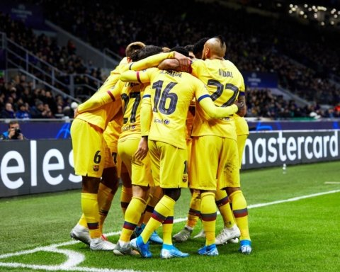 Интер — Барселона — 1:2: онлайн-трансляция матча Лиги чемпионов