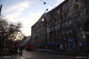 Смертельный пожар в Одессе: что происходит на месте трагедии
