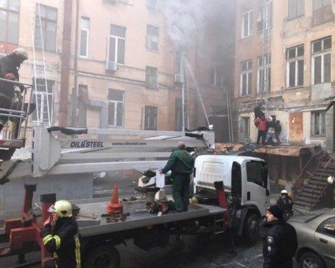 Здание тлеет и начинает разрушаться: новые данные о смертельном пожаре в Одессе