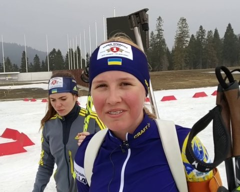 14-річна біатлоністка Меркушина стала наймолодшою переможницею чемпіонату України