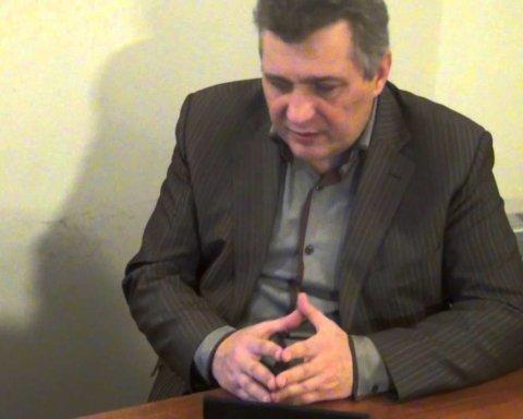 В Харькове облили зеленкой известного «антимайдановца»: фото