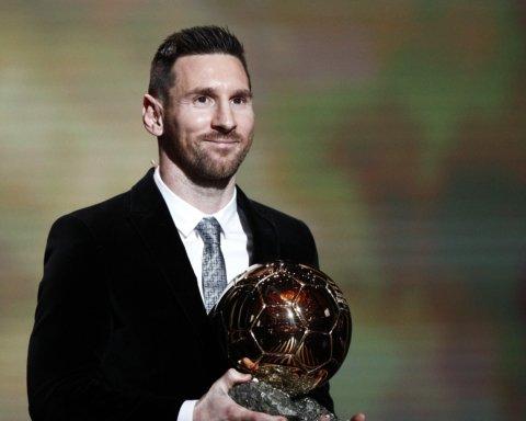 """Мессі отримав """"Золотий м'яч"""": шоста нагорода аргентинця і це рекорд"""