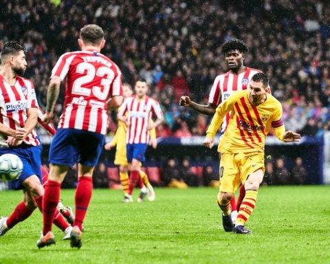 Атлетико — Барселона — 0:1: шикарный гол Месси и мегасэйв Тер Штегена
