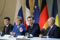 Меркель назвала Путина победителем саммита в Париже