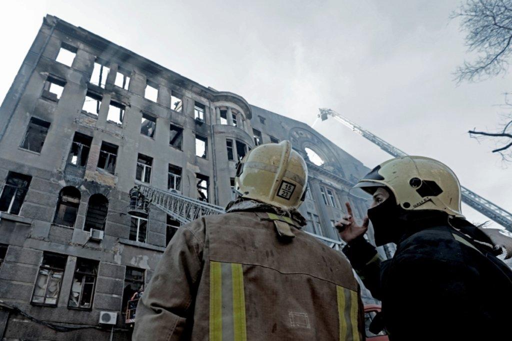 Смертельна пожежа в Одесі: з'явилося моторошне відео початку трагедії