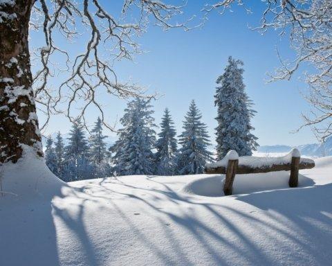 Засипле снігом: синоптики дали прогноз погоди на січень 2020 року