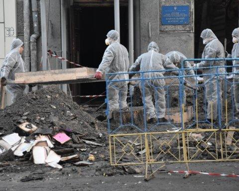 Трагедия в Одессе: ГБР рассказало о причинах пожара в колледже