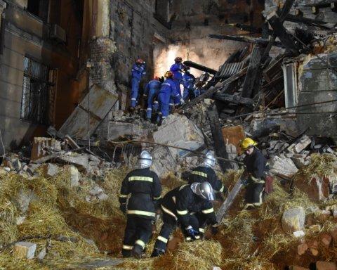 Пожар в одесском колледже: что известно о состоянии пострадавших