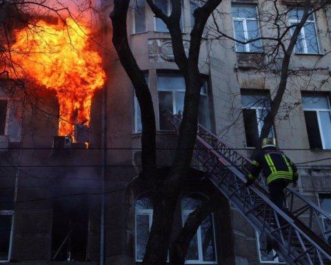 Пожежа в одеському коледжі: з'явилися погані новини про стан постраждалих