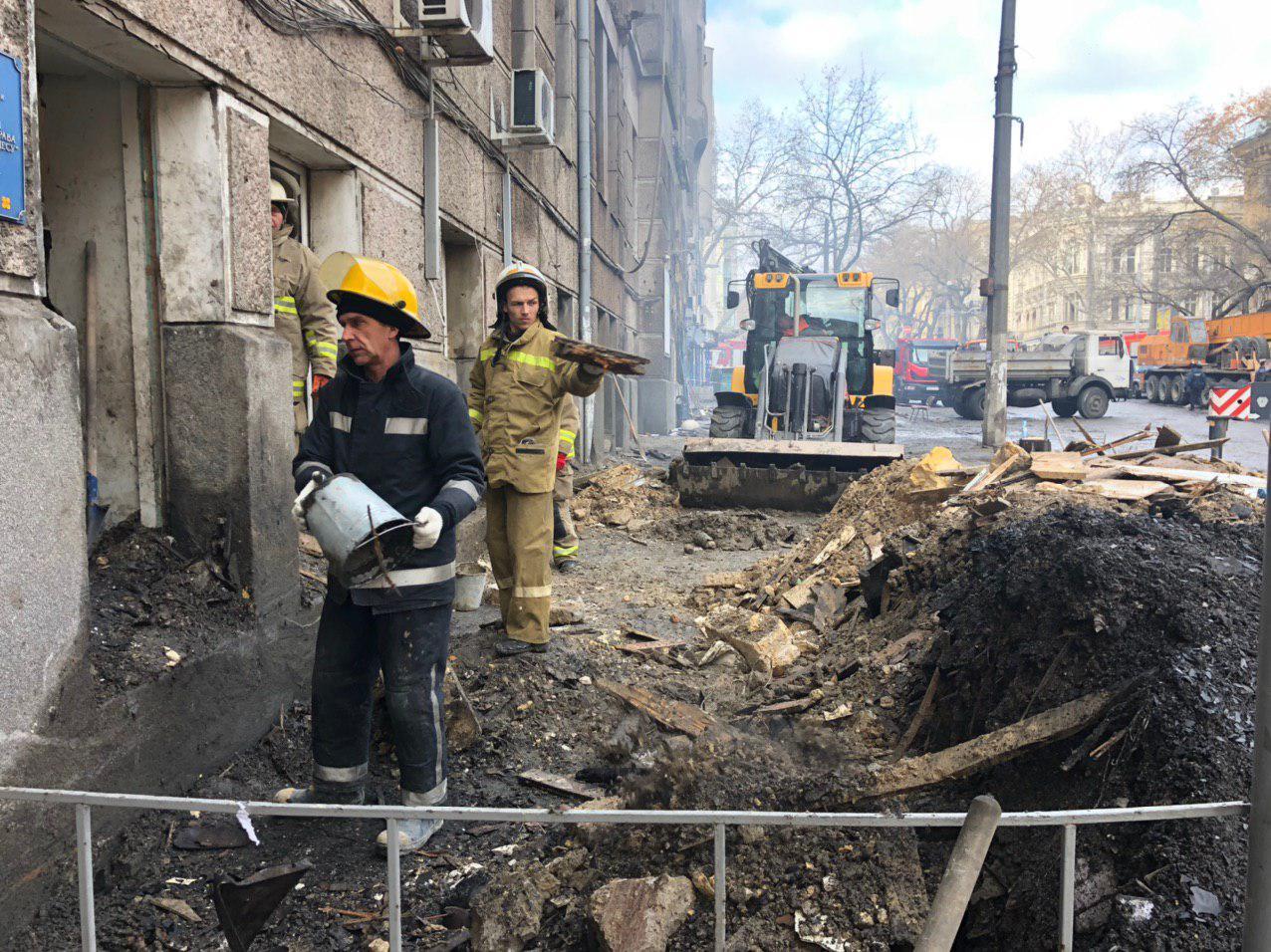 Пожар в Одессе: количество жертв увеличилось до 12 человек