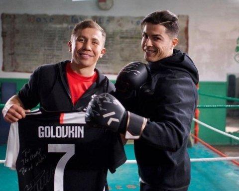 Роналду стал боксером и заинтриговал всех новым проектом с Головкиным