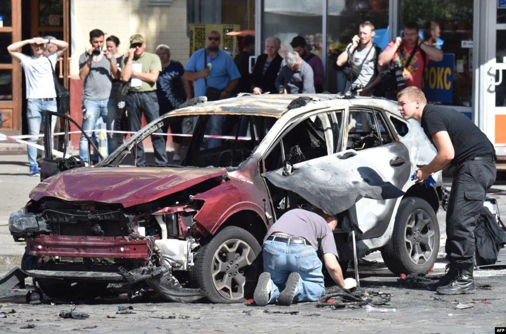 Полиция нашла связь между взрывом авто Шеремета и найденной у Антоненко миной