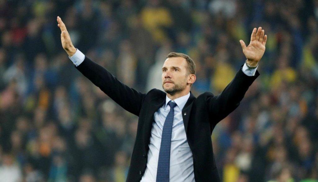 Шевченко прокомментировал жеребьевку ЕВРО 2020: «Удачи нам в следующем году»