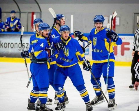 Сборная Украины по хоккею (U-20) обыграла французов