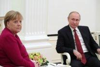Меркель з Путіним зустрілися у Москві: про що говорили