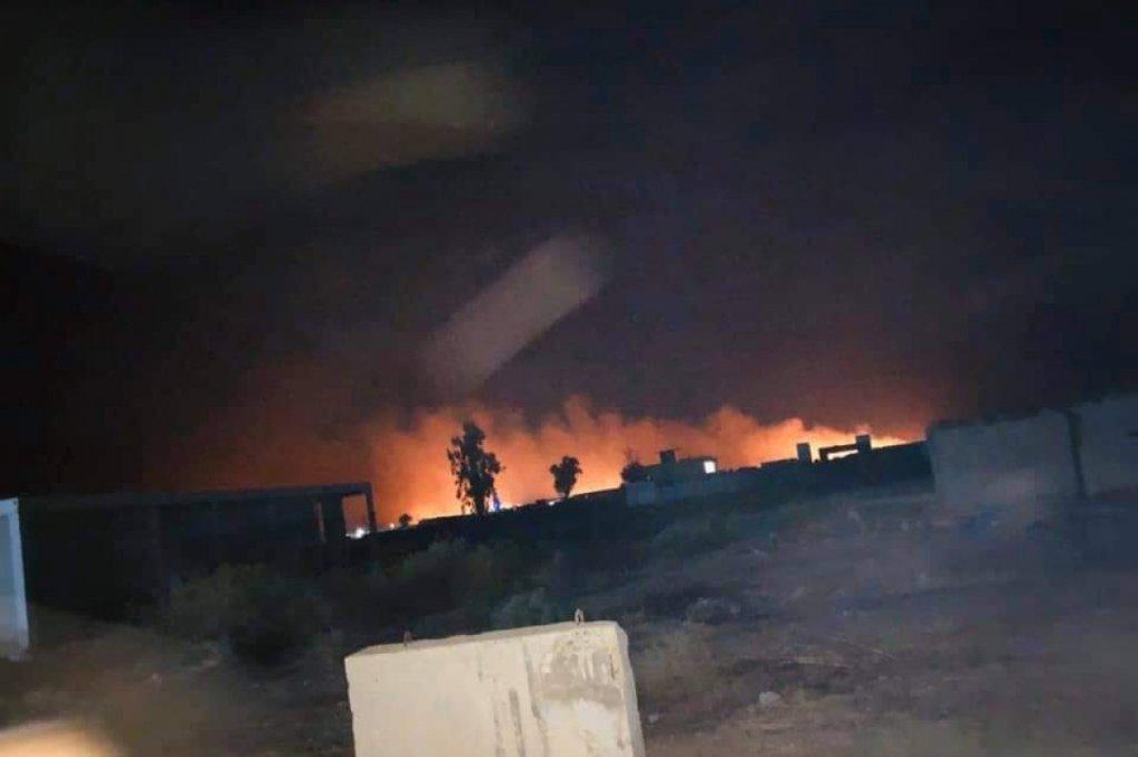 Ситуация на Ближнем Востоке обостряется: в Ираке нанесли мощный авиаудар, много убитых