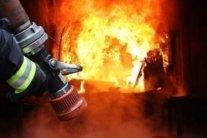 У центрі Києва спалахнула масштабна пожежа