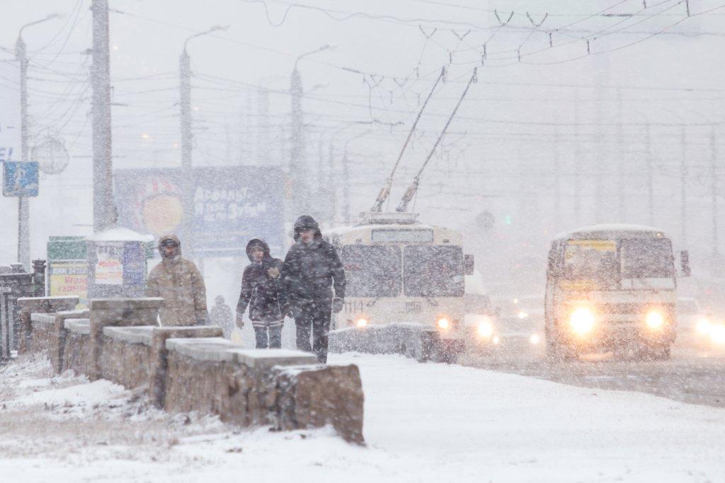В Україні оголошено помаранчевий рівень небезпеки: де буде найгірша погода