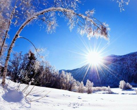 Мороз и солнце: синоптики обновили прогноз на 8 января