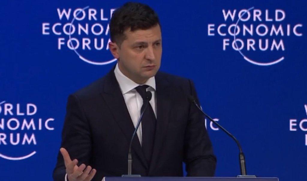 Зеленський в Давосі зробив гучну заяву про війну на Донбасі