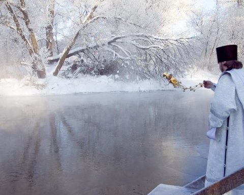 Крещение принесет в Украину морозы: прогноз погоды на воскресенье