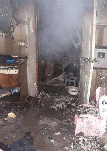 Под Киевом в страшном пожаре погибли три человека