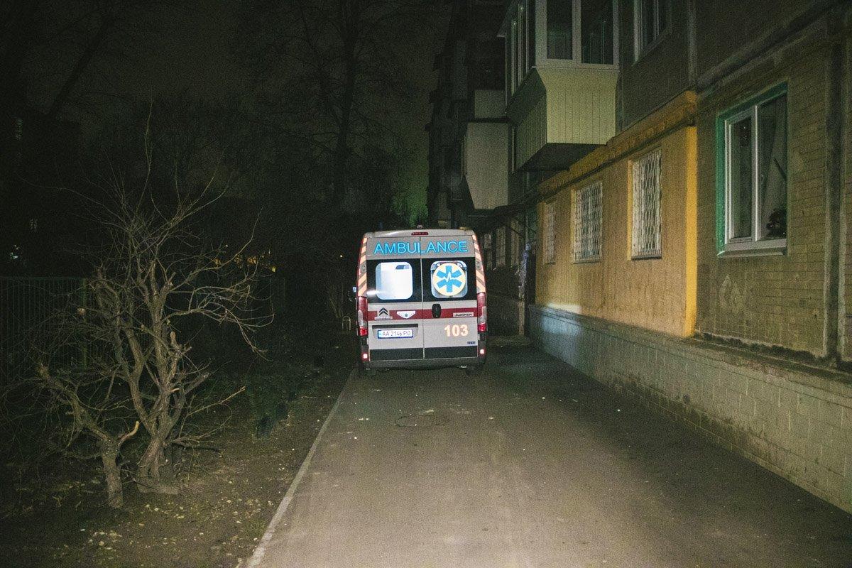 У Києві син підпалив квартиру з батьками всередині