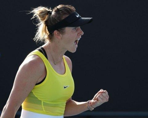Мегаудар від Світоліної на Australian Open