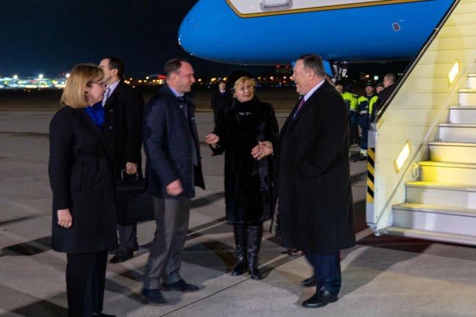 Держсекретар США прибув в Україну з візитом