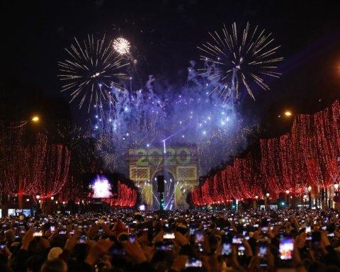 Як зустрічали Новий рік-2020: яскраві фото